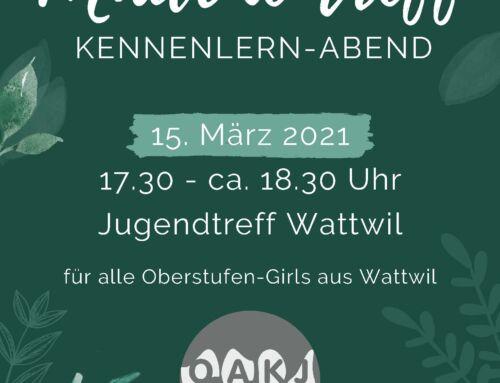 Mädchentreff 15.03.21
